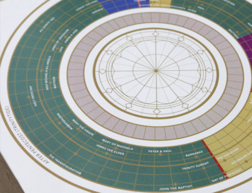 Liturgical Year Circle Print (11×17) – ACNA