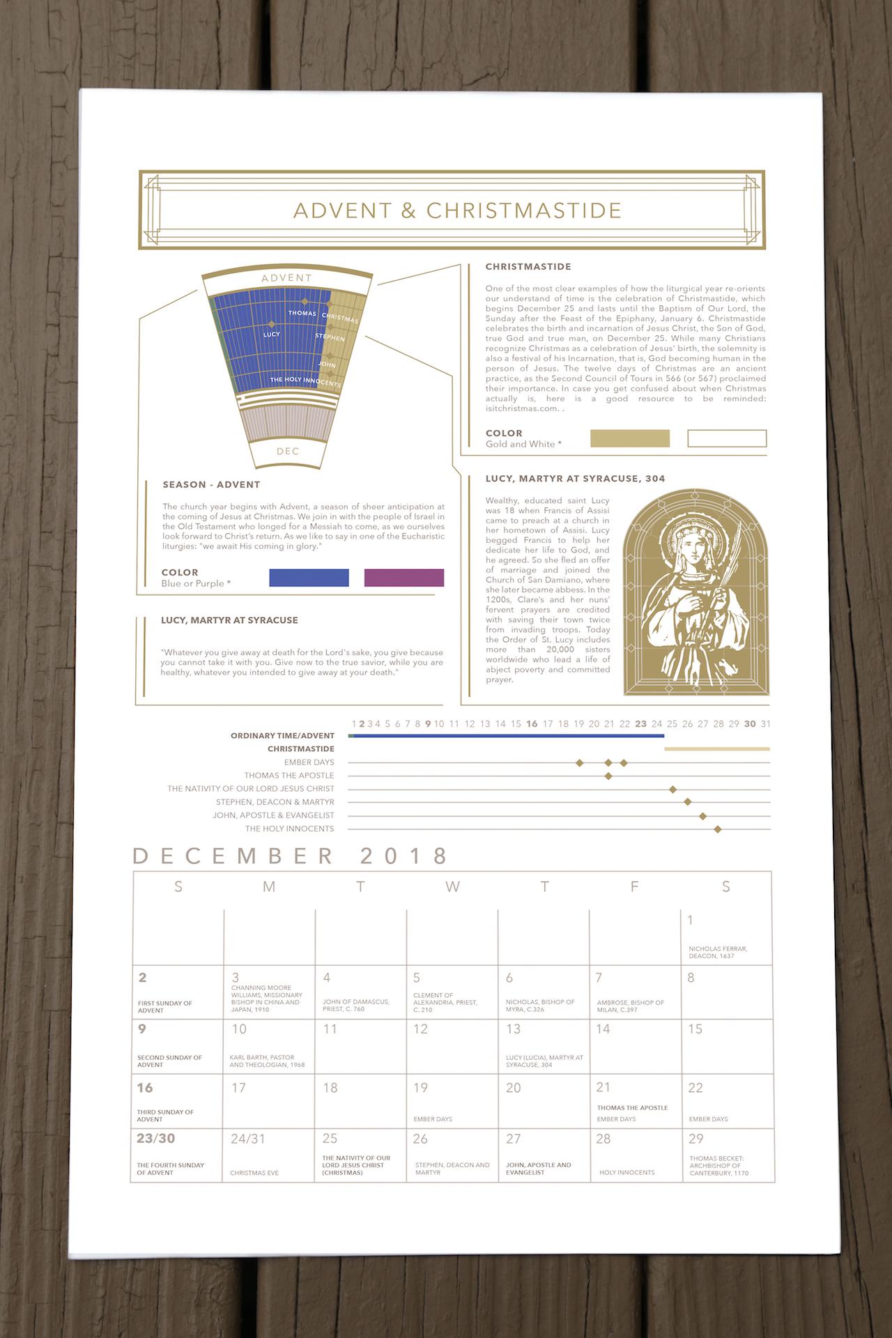 2019 protestant liturgical calendar